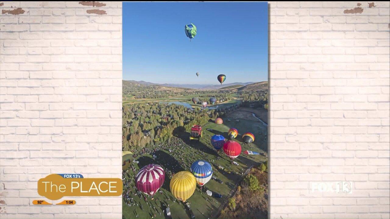 Autumn Aloft, a hot air balloon festival, is returning toUtah