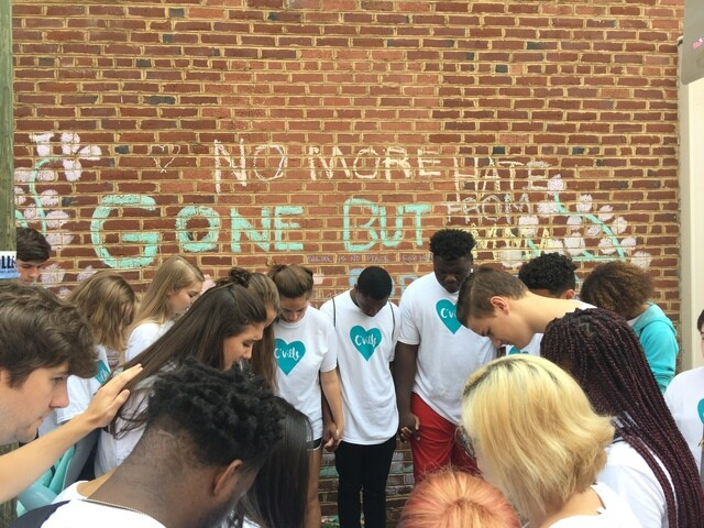 Photos: MNPS Students Visit Charlottesville