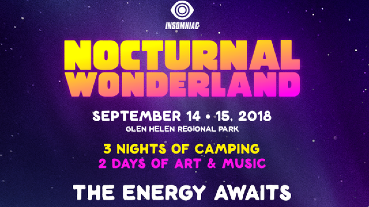 Insomniac announces lineup for 23rd Nocturnal Wonderland