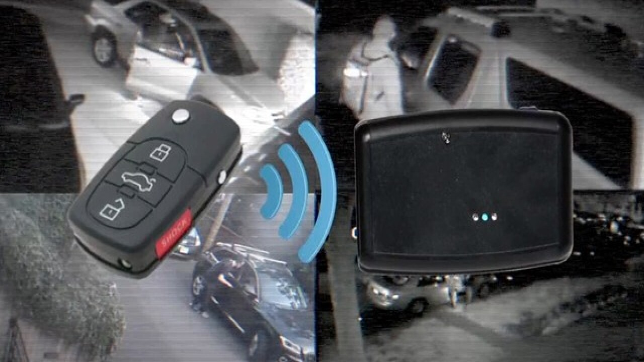 Criminals are cloning your car's key fob