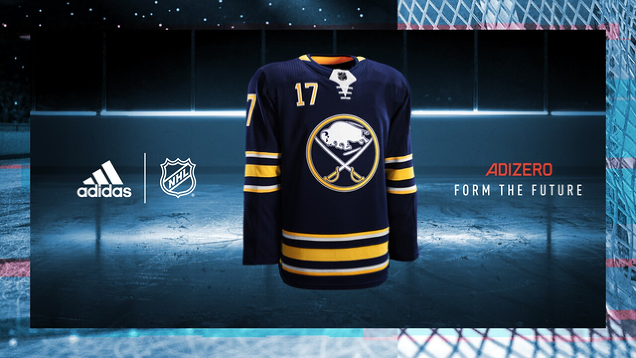 Sabres unveil new Adidas jerseys for 2017-2018 season c69672d72b