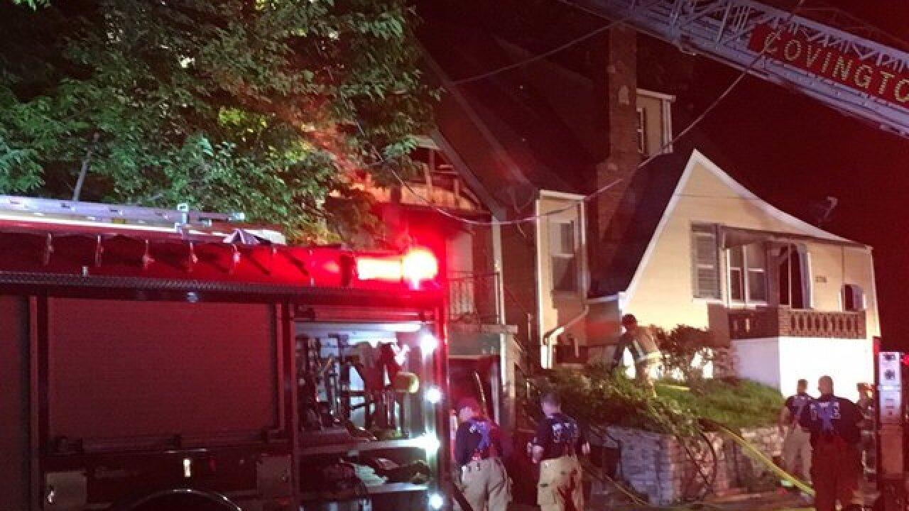 Fire crews find victim inside Covington home