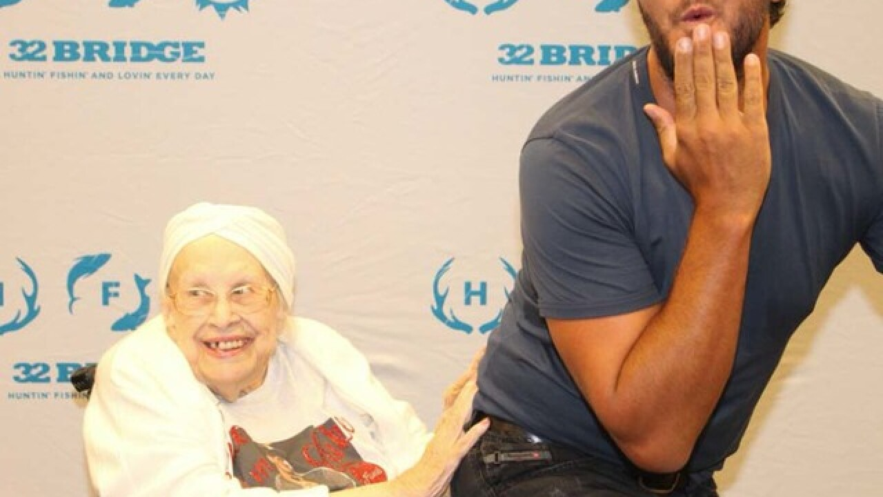 Woman battling terminal illness meets Luke Bryan