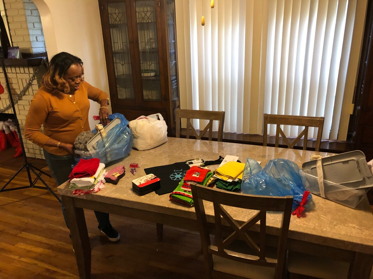 Prepping donations