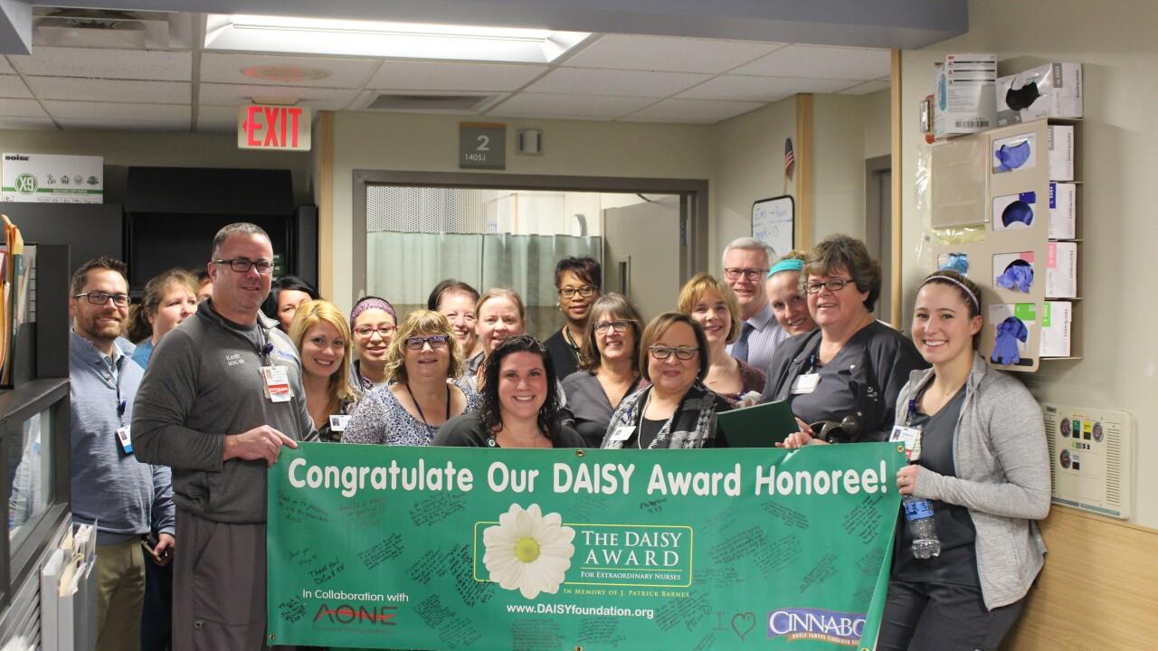 Charlie Hall Honored with DAISY Award