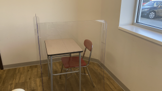 Plexiglass dividers are becoming the norm at schools nationwide