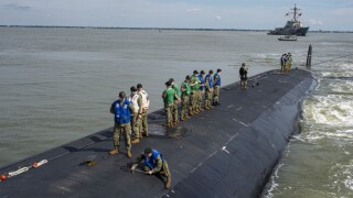 USS New Hampshire returns to Naval Station Norfolk (May 7)