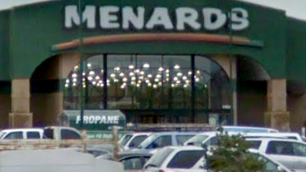 Menards March Food Drive