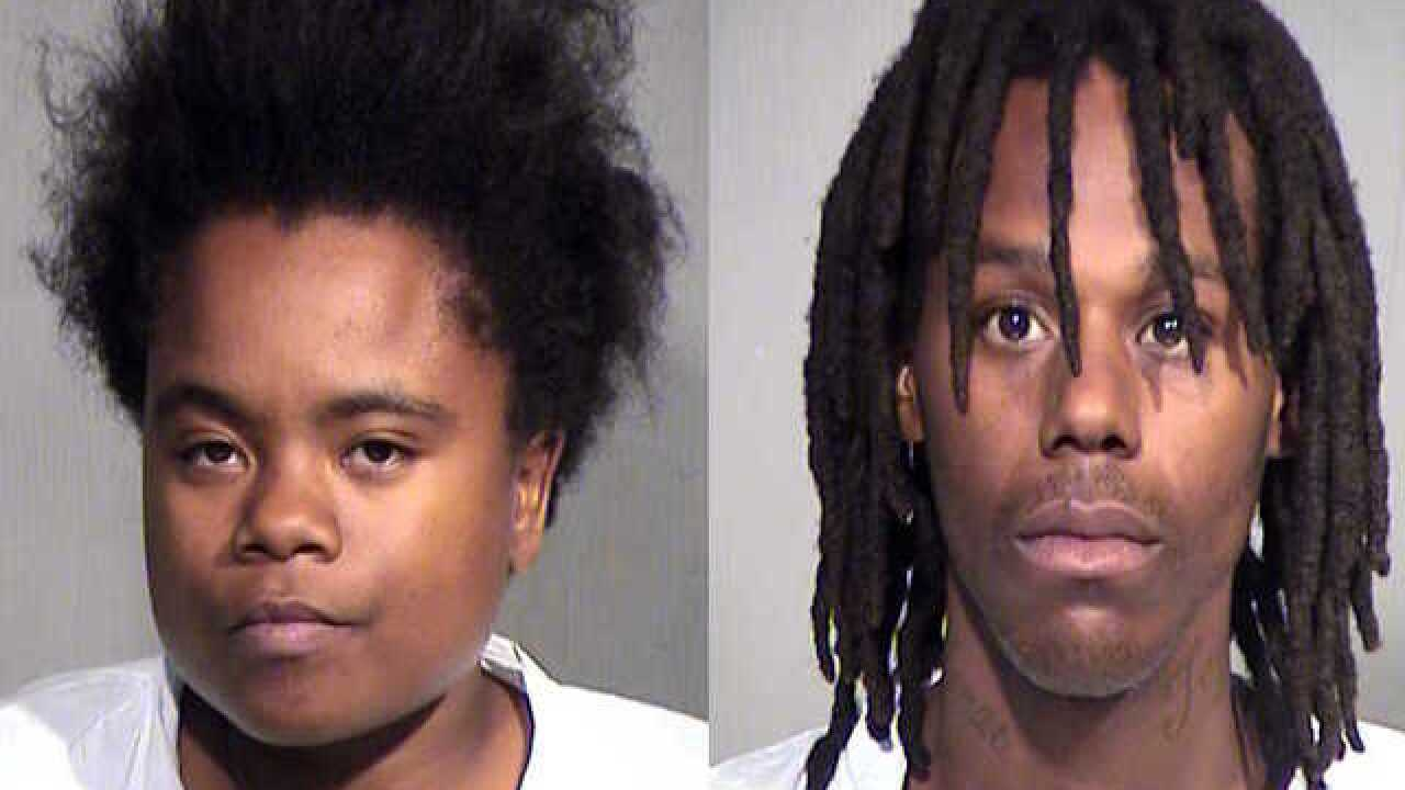Phoenix PD: 2-year-old with signs of abuse dies at hospital, caregivers arrested