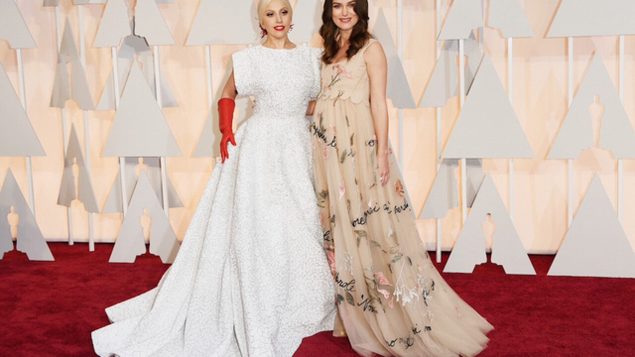 Oscars 2015: On the red carpet