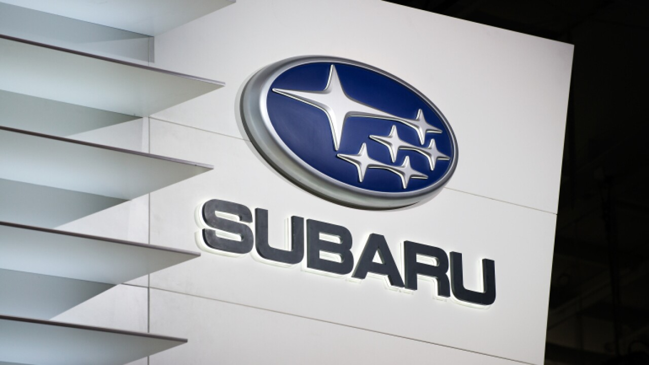Subaru is recalling nearly 500,000 vehicles because the airbags could explode