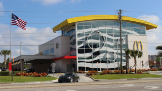Nonstandard McDonald's in Orlando