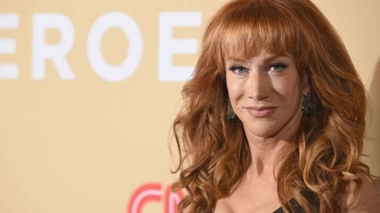 Kathy Griffin to do new shows, 9 months after that infamous Trump photo