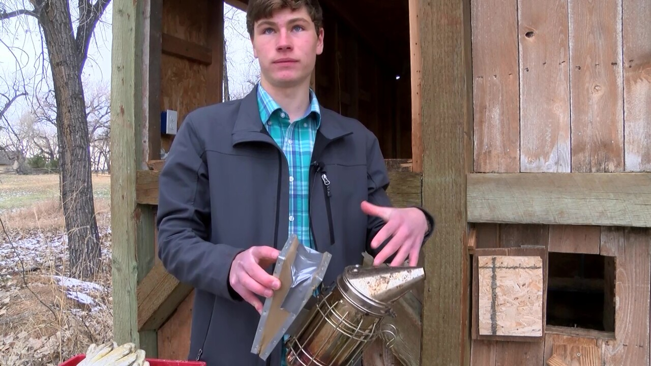 Great Falls teen sells honey to pay soccer dues