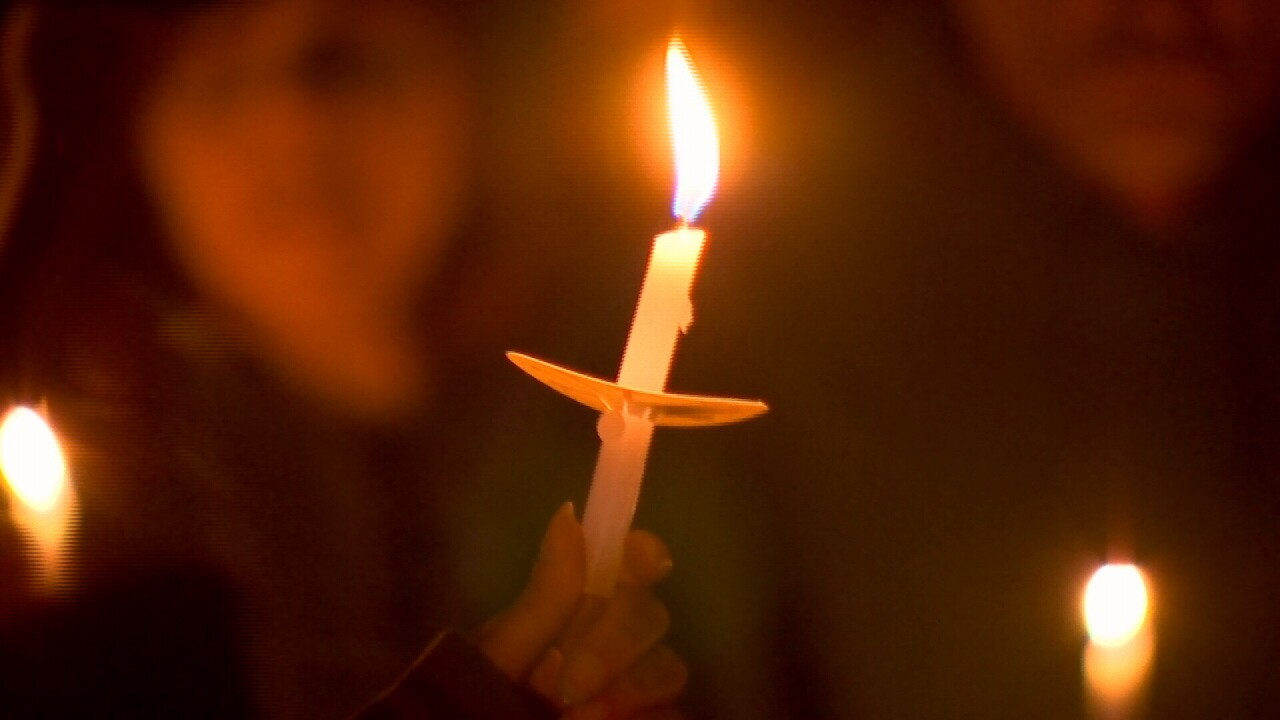 Lori Bray candle light vigil CANDLE CLOSE UP.jpg
