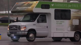 """Montana Ag Network: """"Farmers for Free Trade"""" RV tour makes stop in Billings"""