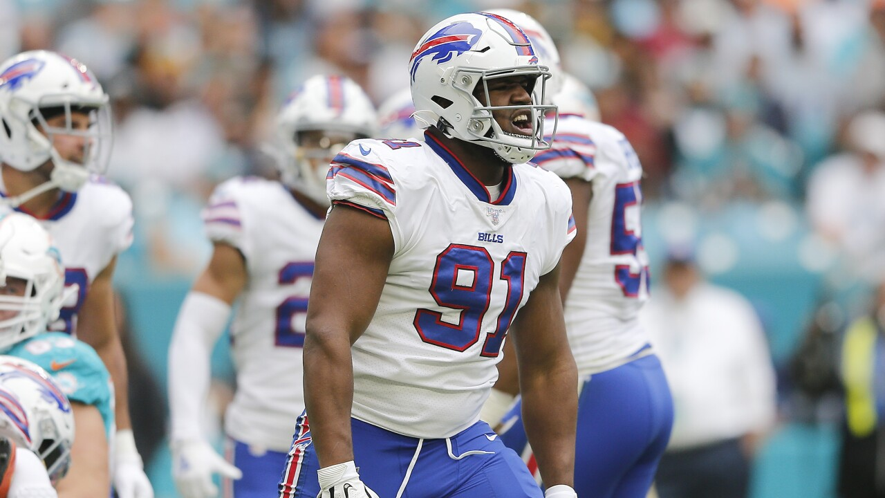 Homecoming for Ed Oliver in Houston as Bills battle Texans