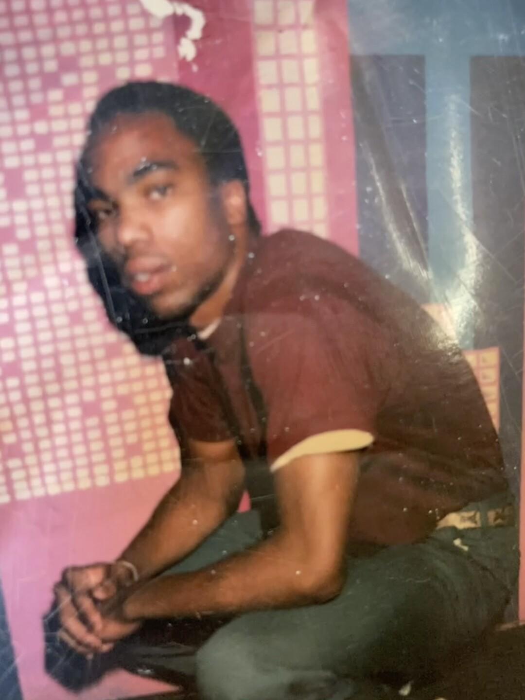 Dominee Meek as a teenager before he killed Warren Smith Jr.