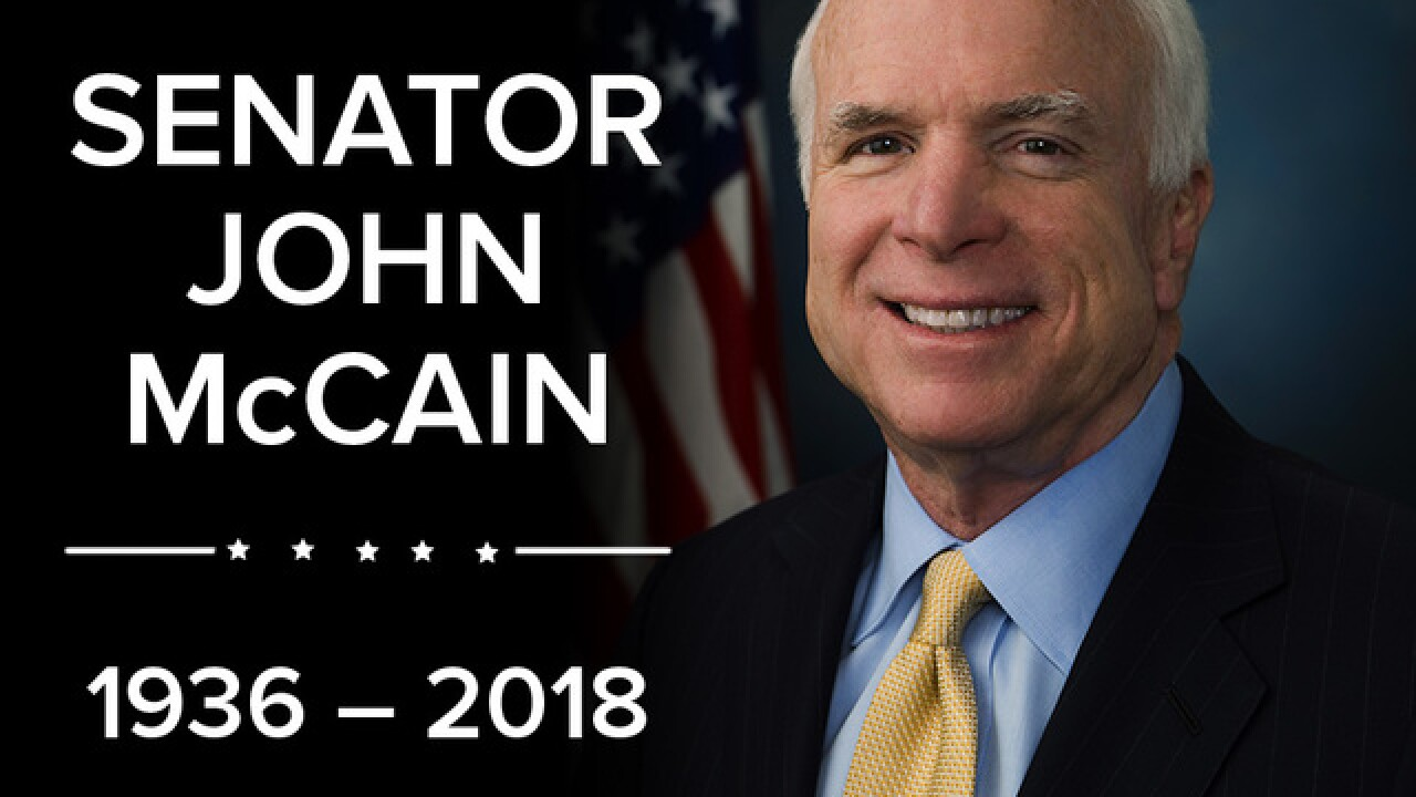 Senator John McCain passes away at age 81