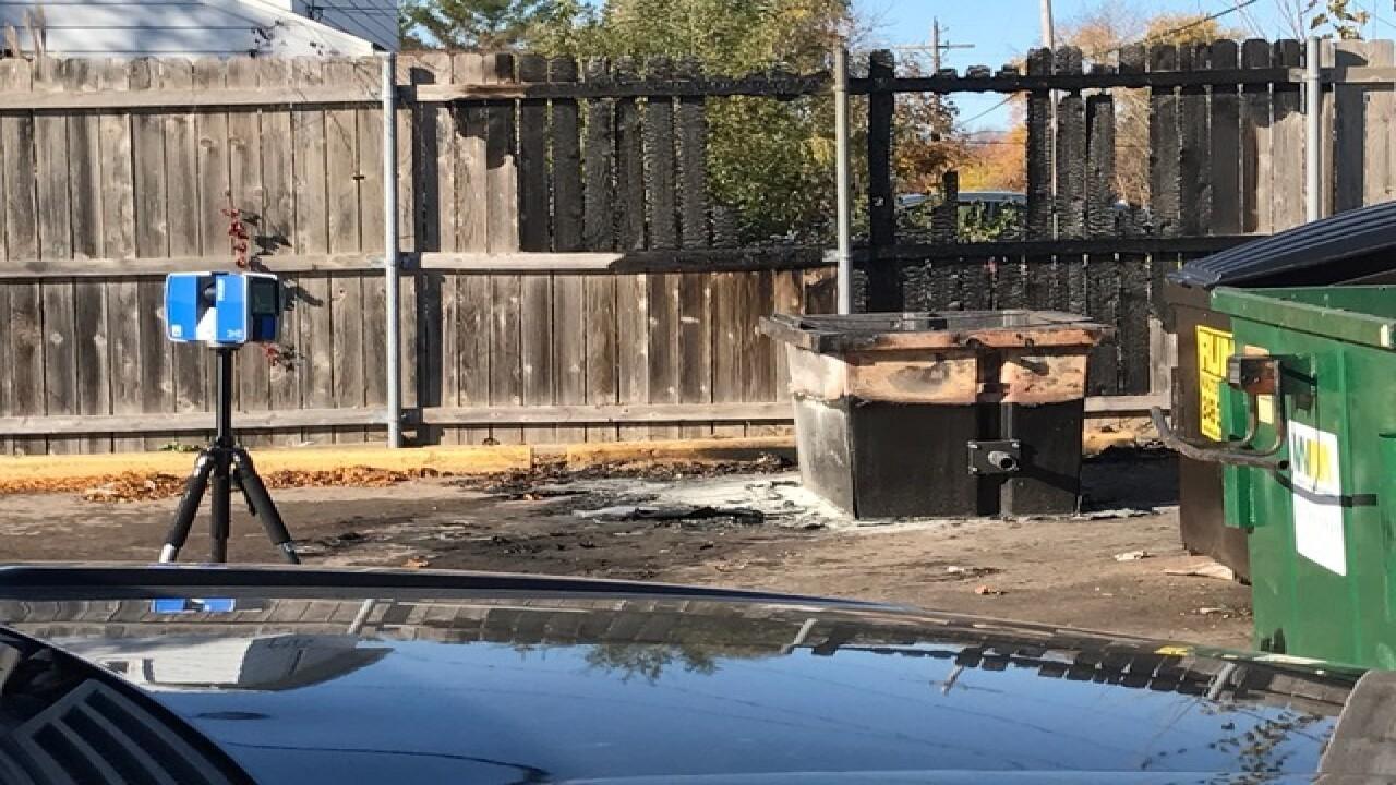 Police find body on fire in alley in Southfield