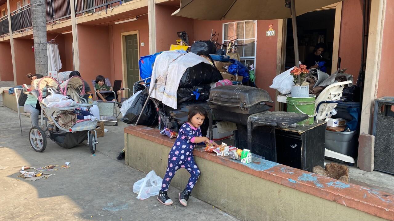 Families Left Homeless
