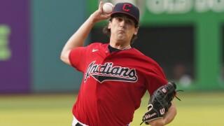 Cal Quantrill Tigers Indians Baseball