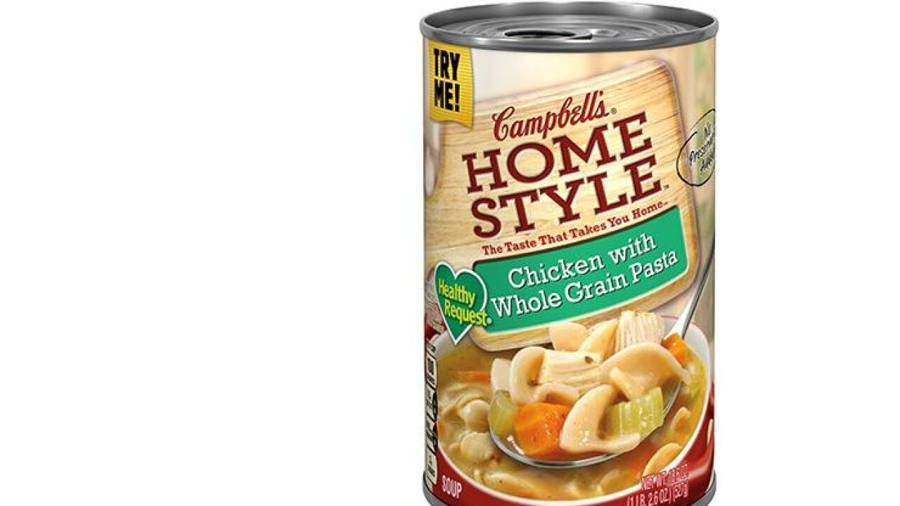 Campbell recalls thousands of cans over soup switcheroo