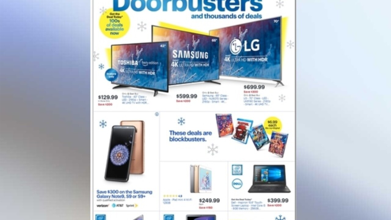 Best Black Friday Doorbusters 2020 Best Buy's 2018 Black Friday ad is out with big savings on 4K TVs
