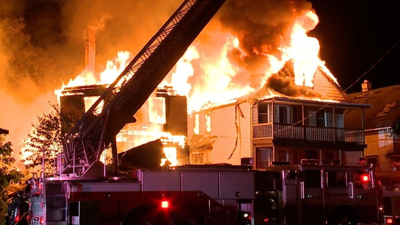 Five homes in E. Cleveland burned last night on same ...