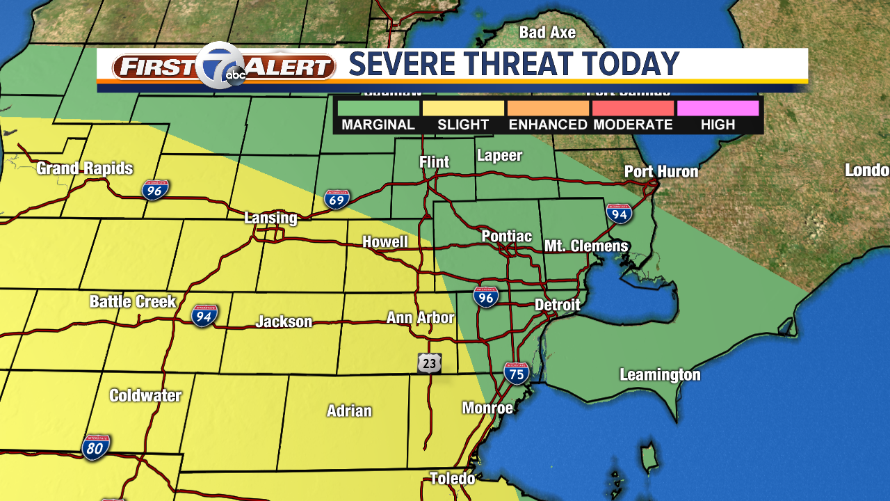 Severe Outlook May 16
