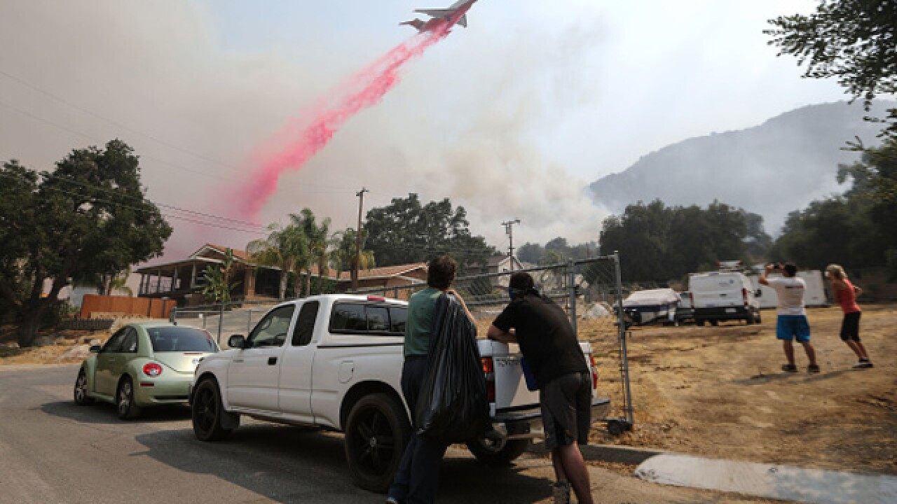 Holy Fire: More than 21,000 acres burned