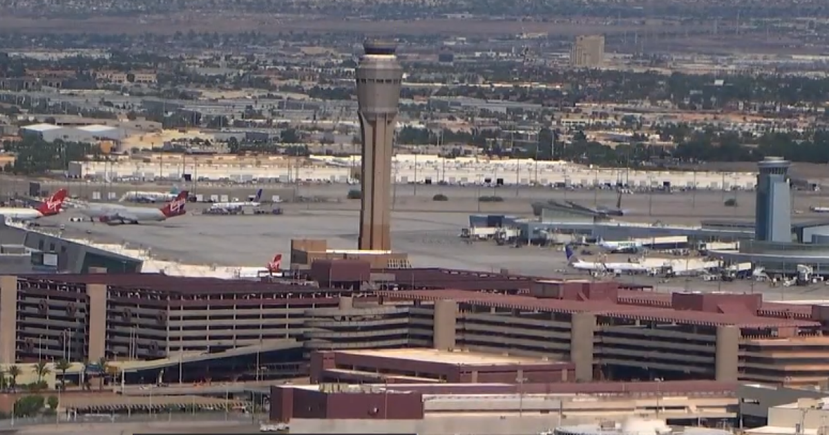 Vegas airport reports 2nd-highest monthly passenger volume