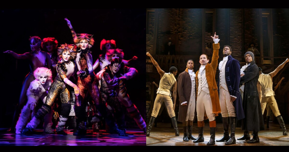 Hamilton, Cats included in TPAC's 2019-2020 season