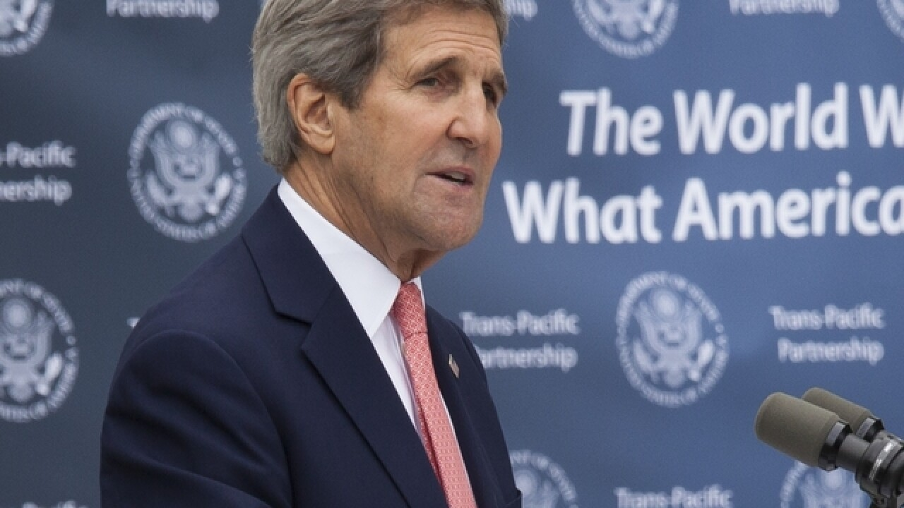 Kerry: US to accept more refugees from Syria