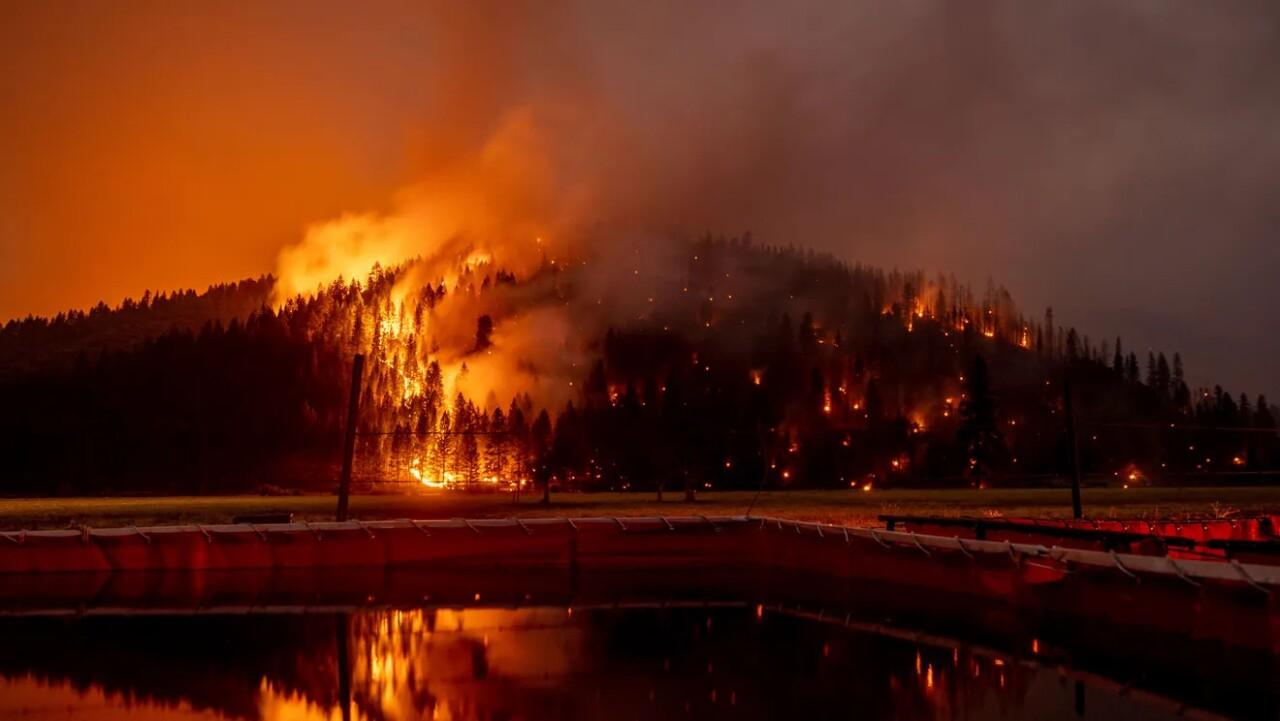 The Caldor Fire In California