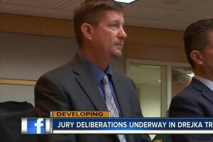 Jury deliberating in Michael Drejka manslaughter trial