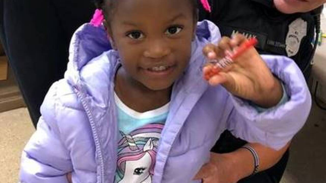 Police looking for parents of wandering toddler