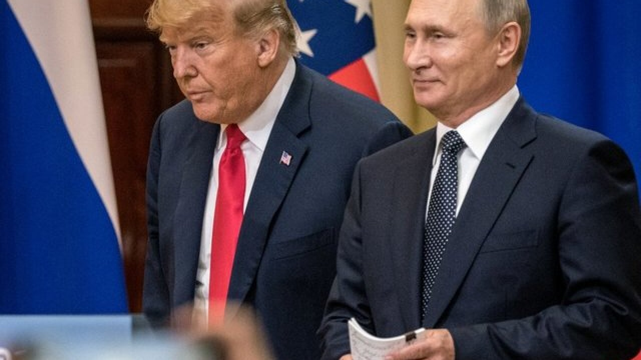 White House opted for Russia indictments before Putin meeting