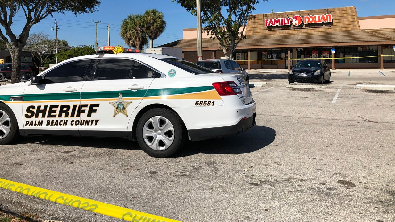 Shooting near Family Dollar in Palm Beach County