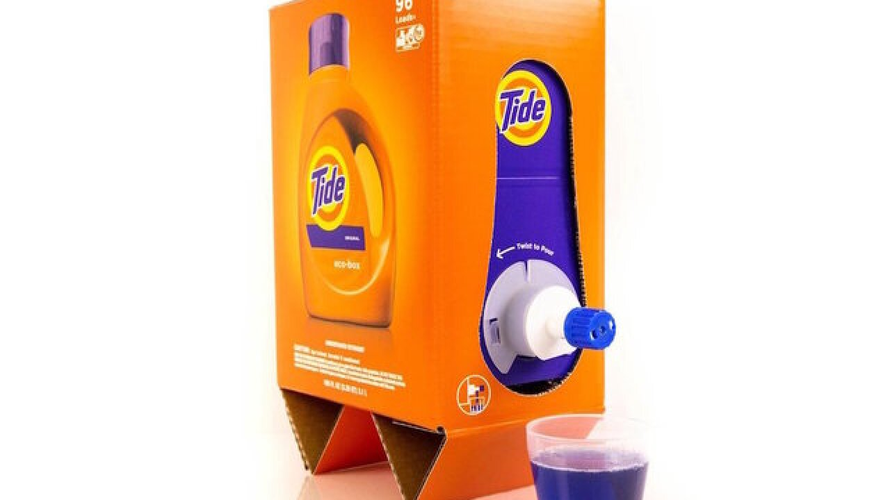 Tide laundry detergent will soon be shipped by Amazon in a shoe box; here's why