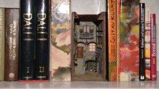 Diorama Inserts Will Make Your Bookshelves So Whimsical