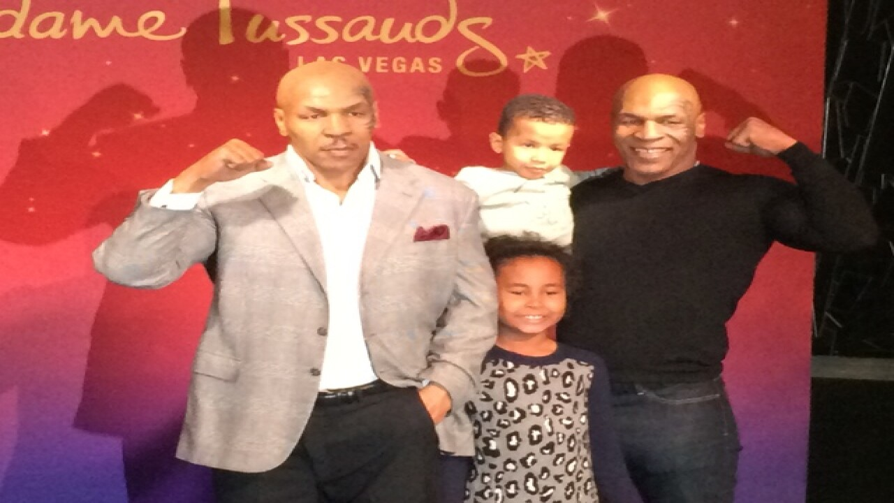 Mike Tyson wax figure unveiled at museum