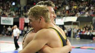 Photos: Wrestlers punch their tickets to state finals in Saturday morning semis