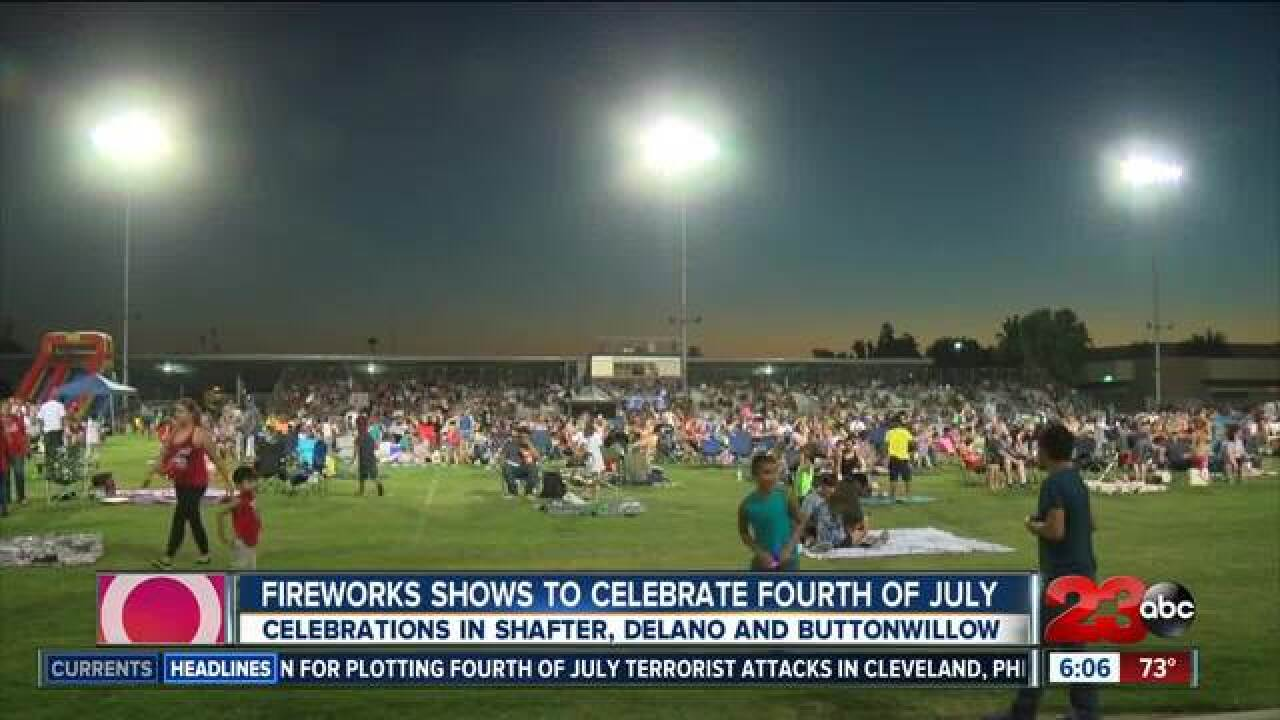 Fourth of July Events in Kern County