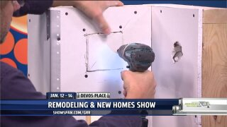 Learn how to repair drywall and more at the Remodeling & New Home Show