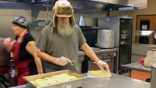 homeless kitchen