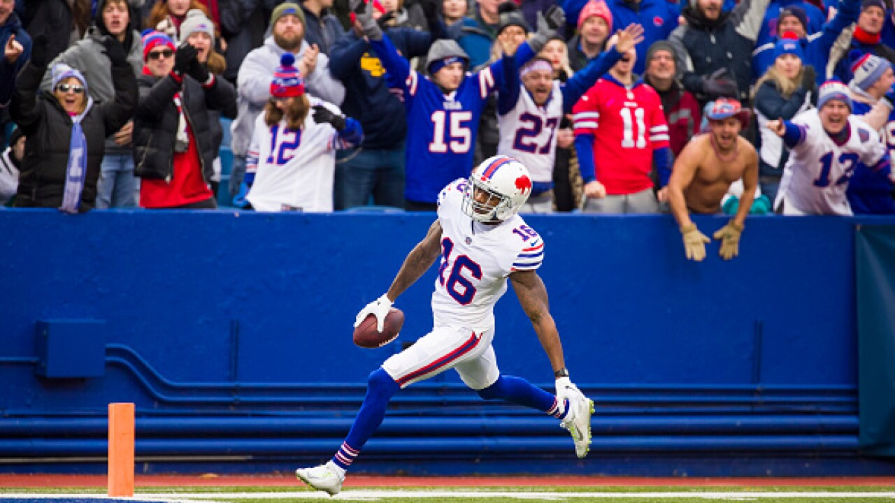 Report: Bills re-sign WR Robert Foster and CB Levi Wallace; exercise option on OL Spencer Long