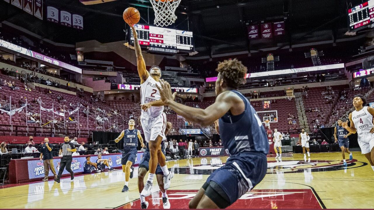 Walker, Koprivica lead Florida St.'s opening rout of UNF
