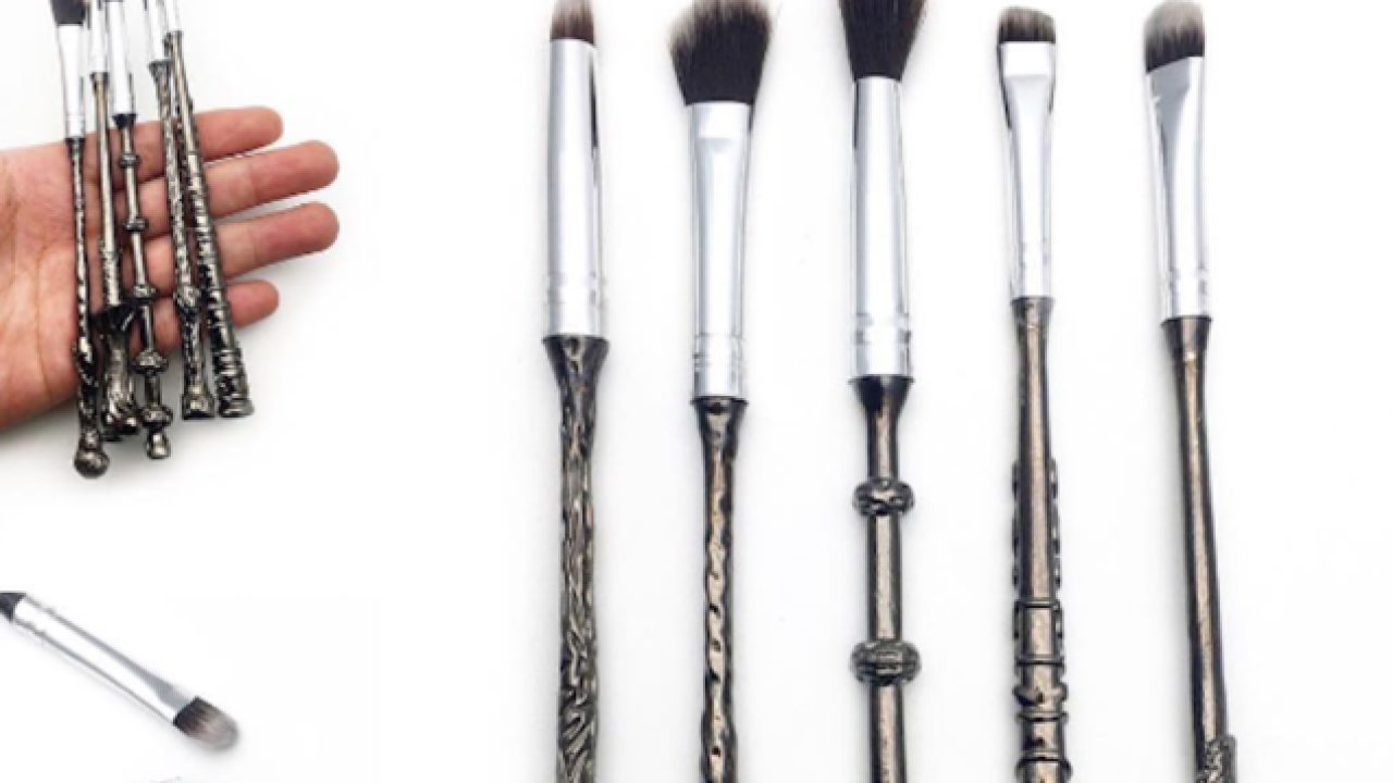 Harry Potter 'Wizard Wand' makeup brushes to be available soon
