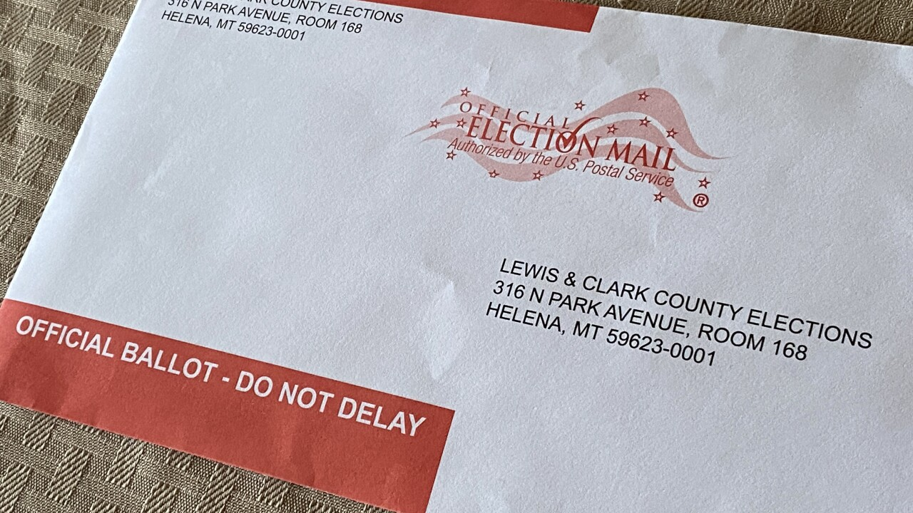 More than 243K Montana ballots already returned, two weeks before Election Day